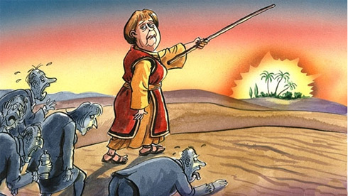 Calling the world's poor to Germany