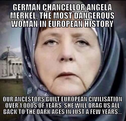 Merkel invited a million young men to change history forever